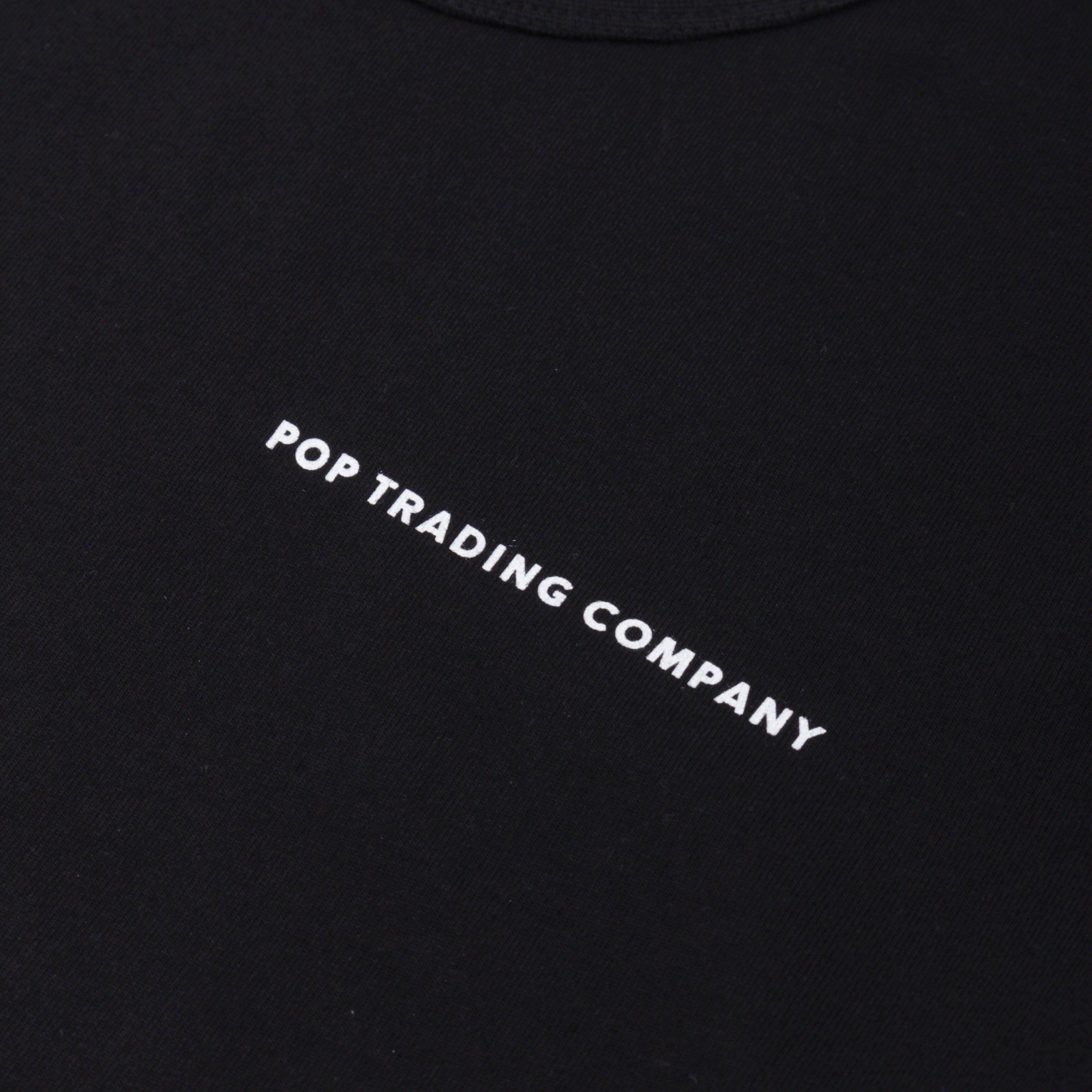 Pop Trading Company POPSS19022 LOGO LONGSLEEVE