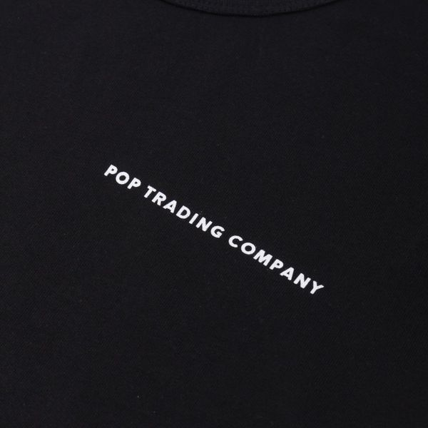 Pop Trading Company Logo Long Sleeve T-Shirt