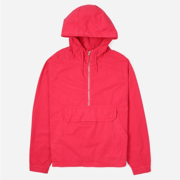 Pop Trading Company DRS Half Zip Hooded Jacket