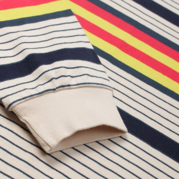 Pop Trading Company Multicolour Striped Long Sleeve T-Shirt
