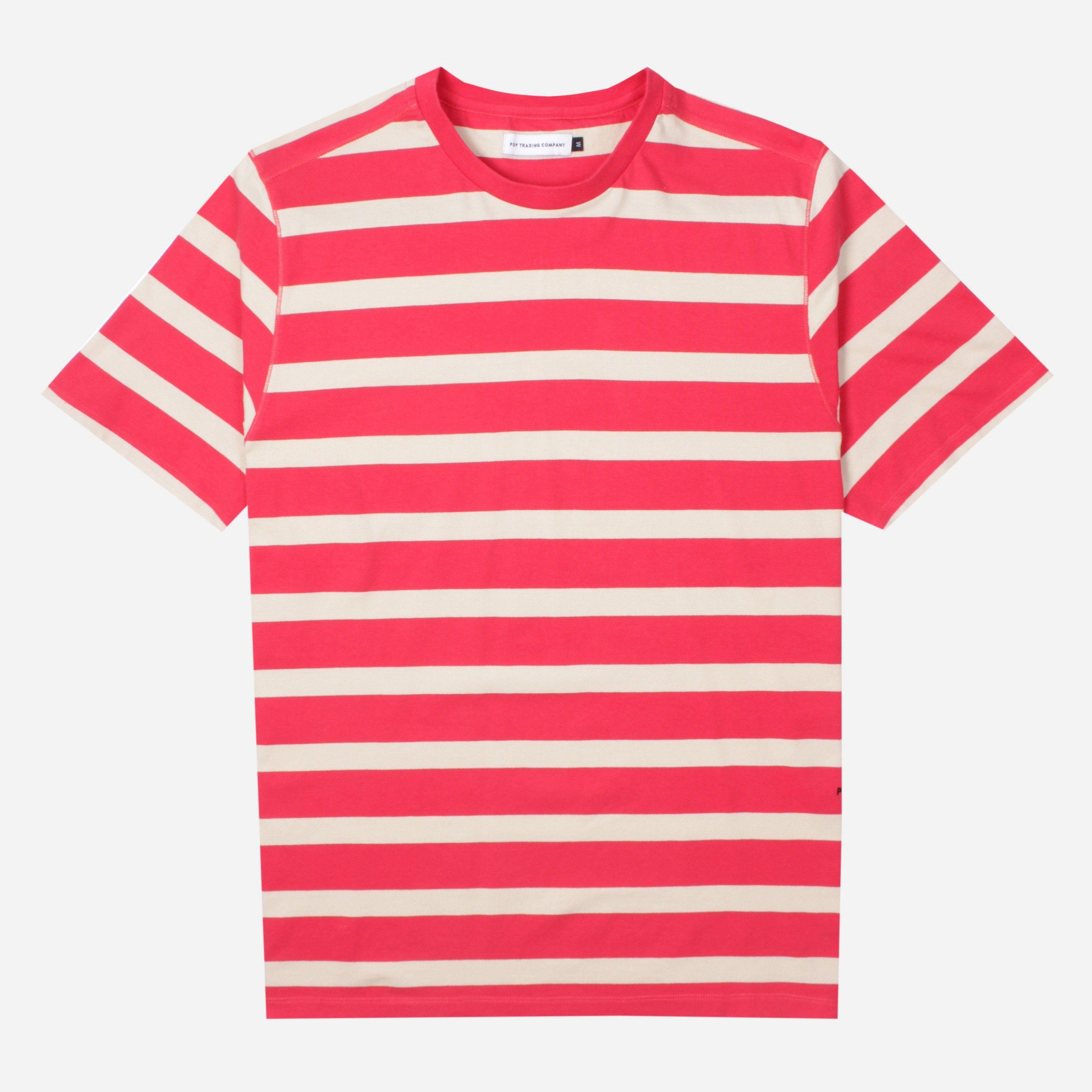 Pop Trading Company Big Stripe T-Shirt