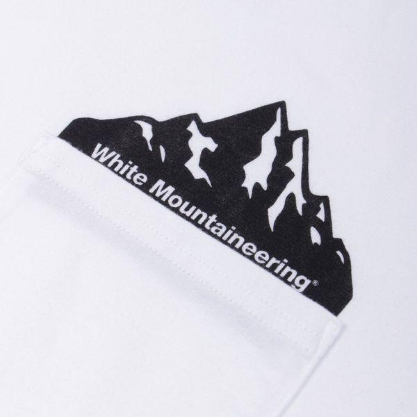 White Mountaineering Printed Pocket Short Sleeve T-Shirt