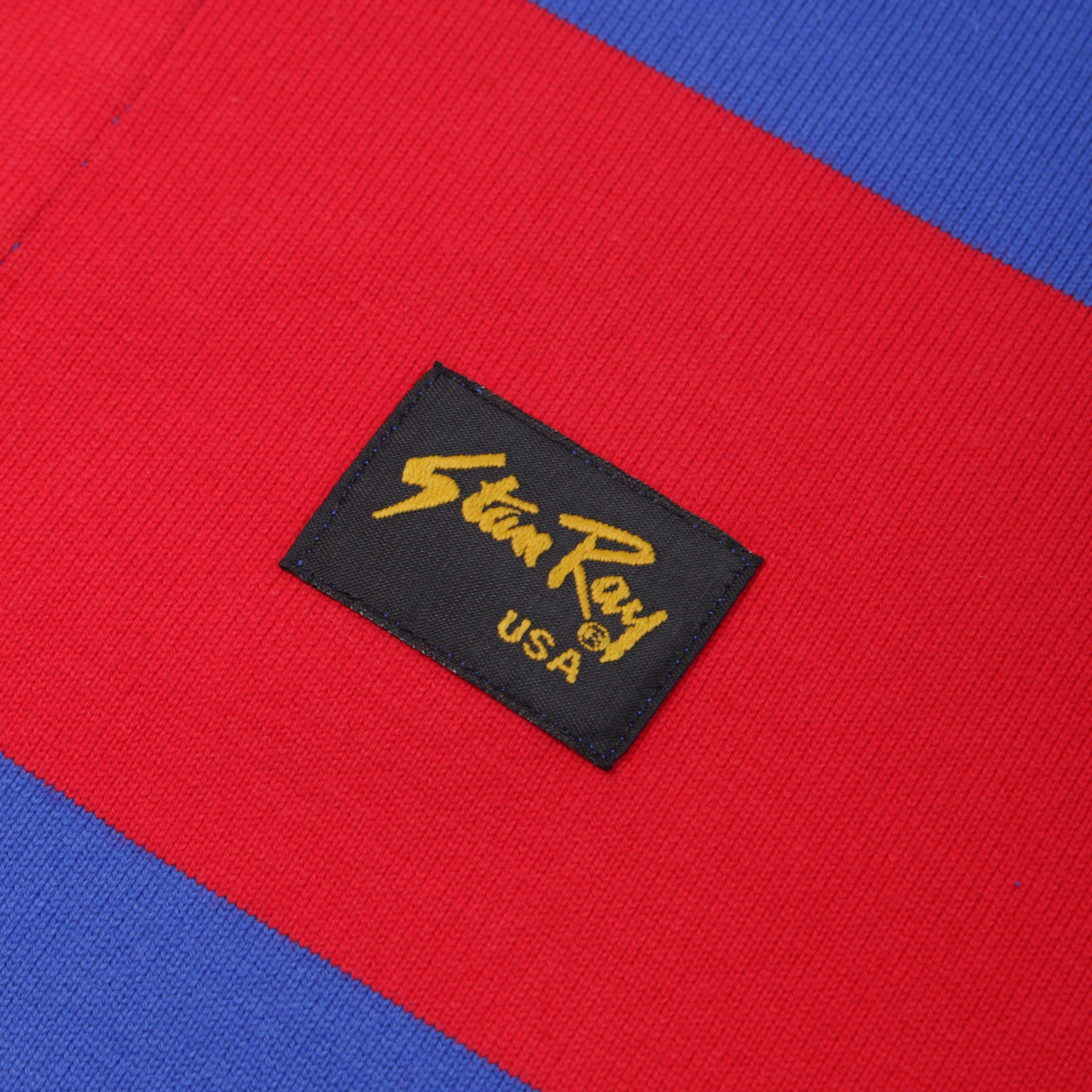 Stan Ray Football Stripe Polo Shirt