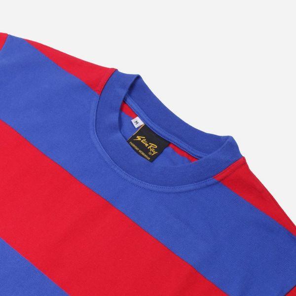 Stan Ray Football Long Sleeve Stripe T-Shirt