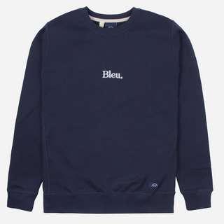 Bleu De Paname Embroidered Logo Sweatshirt