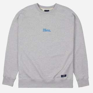 Bleu De Paname Embroidered Logo Sweatshirt