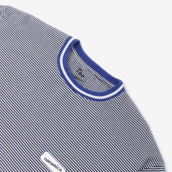 Nanamica Stripe Jersey T-Shirt