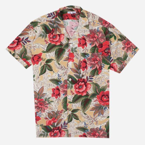 Engineered Garments Camp Short Sleeve Shirt