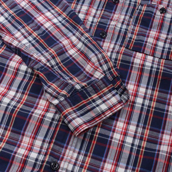 Engineered Garments Plaid Pop Long Sleeve Work Shirt