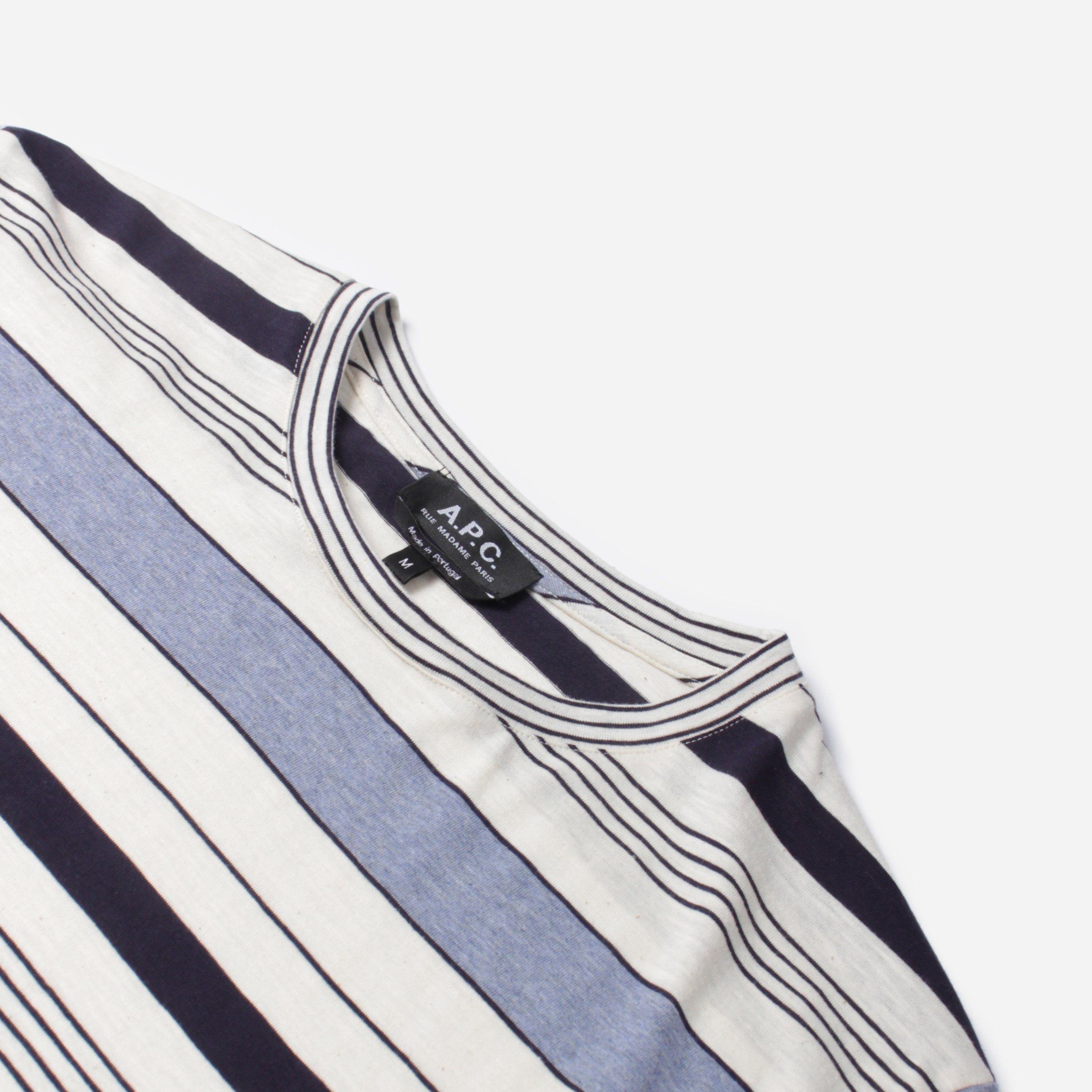 A.P.C. Robert Stripe T-Shirt