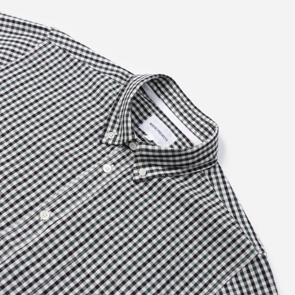 Norse Projects Osvald Gingham Short Sleeve Shirt