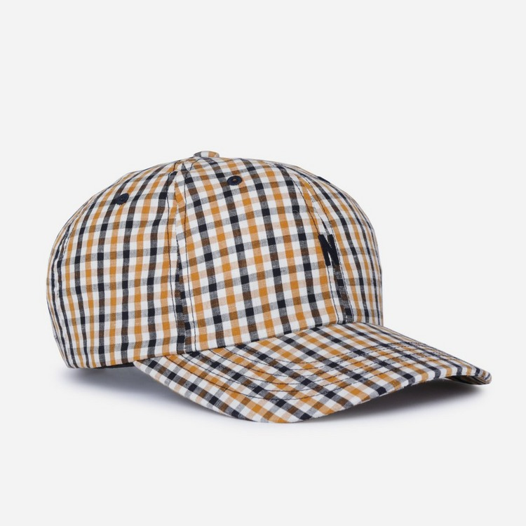 Norse Projects Gingham Sports Cap
