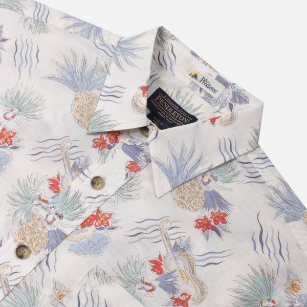 Pendleton Aloha Short Sleeve Slub Shirt