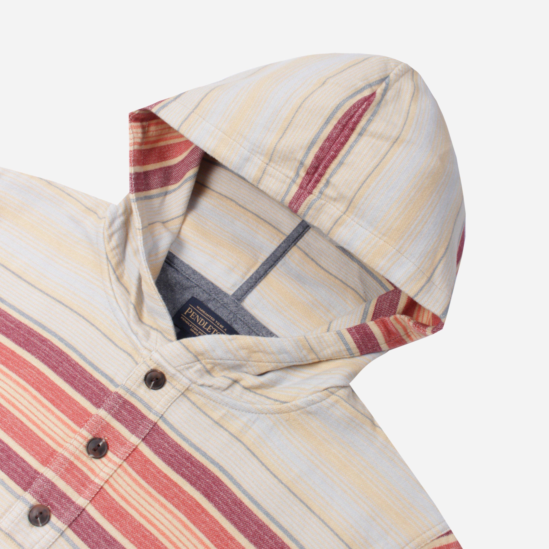 Pendleton Stripe Popover Hoodie