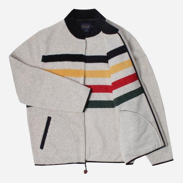Pendleton Glacier Stripe Fleece Jacket