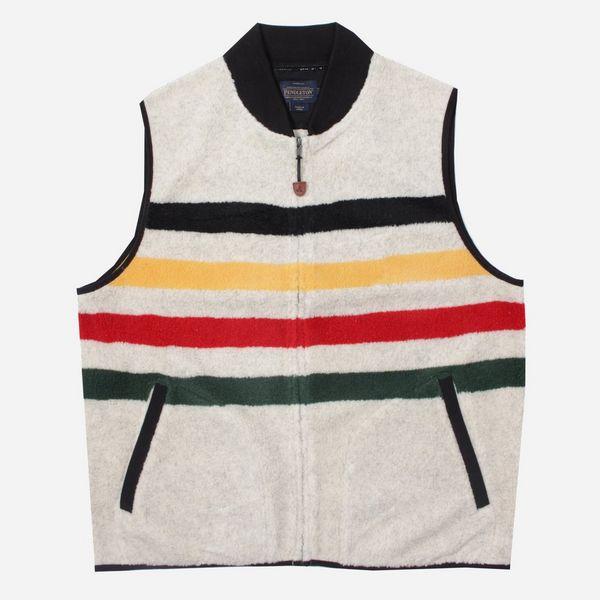 Pendleton Glacier Stripe Fleece Vest