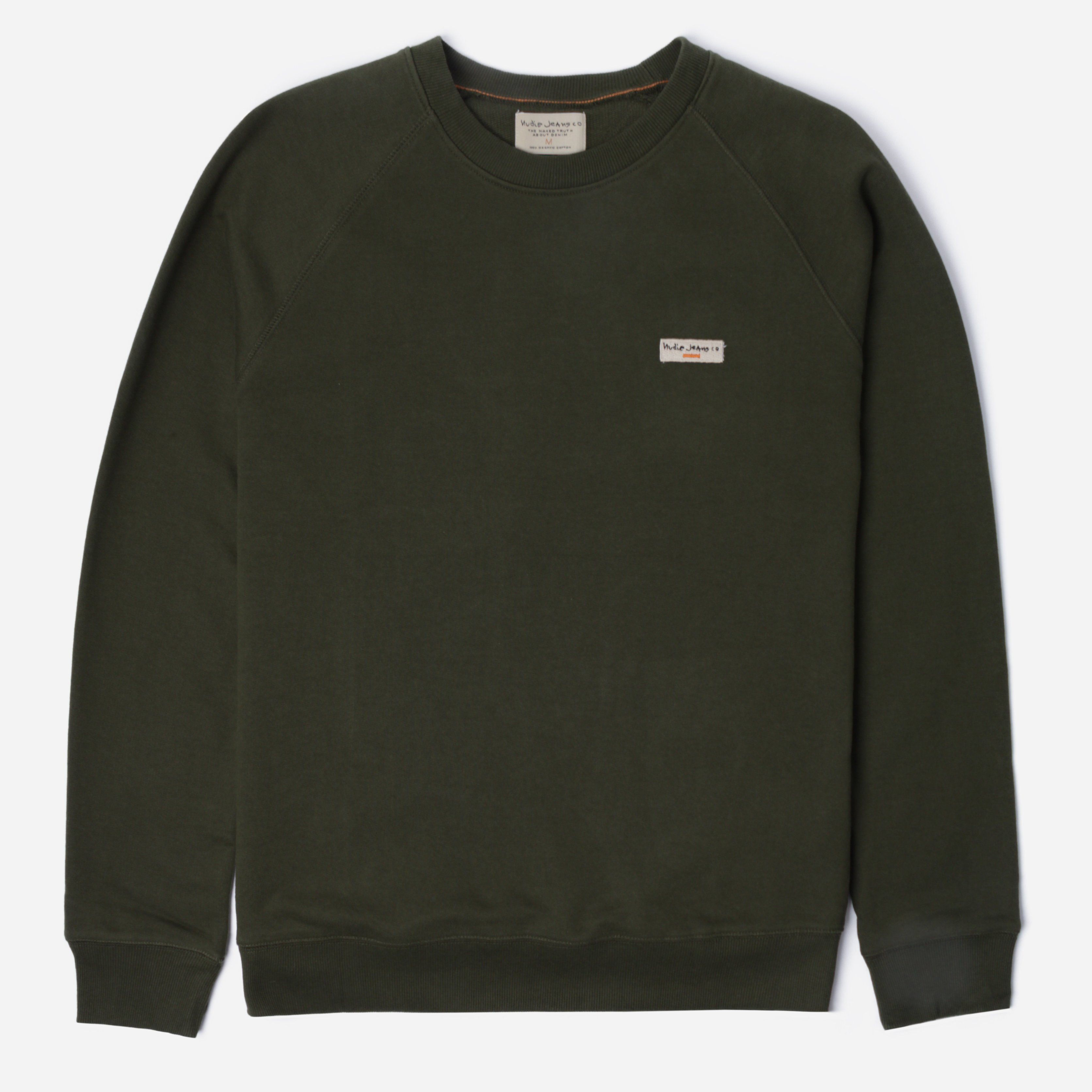 Nudie Jeans Co. 150380 SAMUEL LOGO SWEATSHIRT
