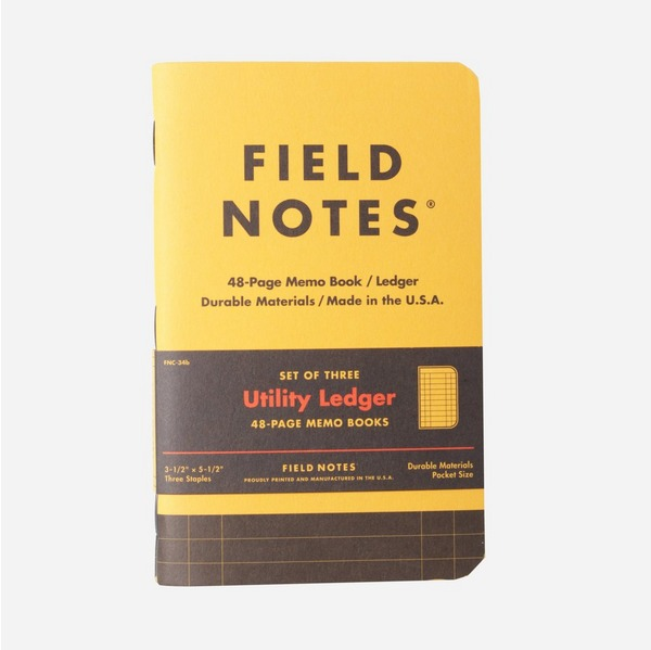 Field Notes Utility Ledger