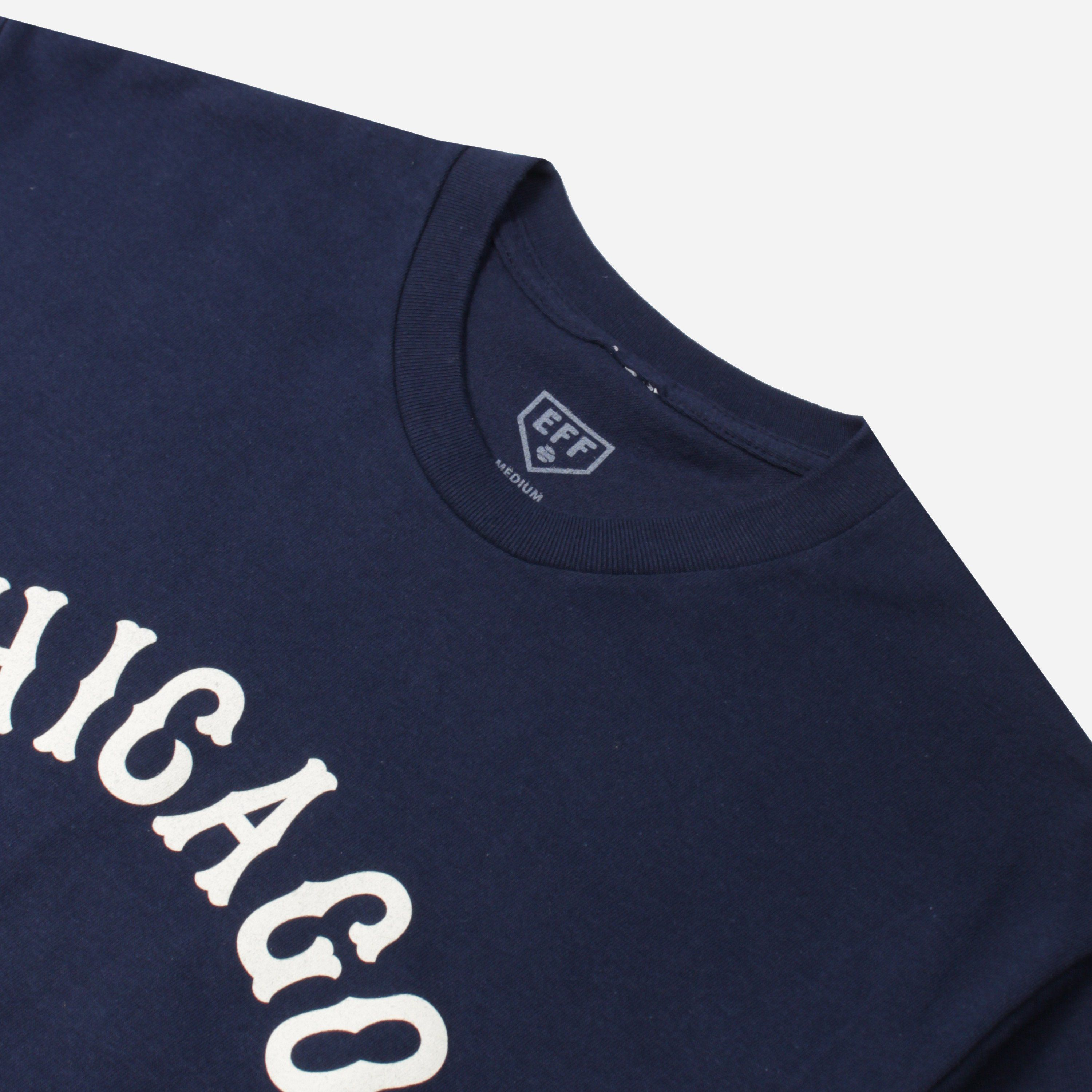 Ebbets Field Flannels CAGHRT CHICAGO AMERICAN GIANTS ROAD TEE