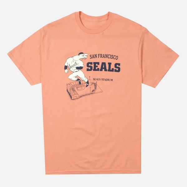 Ebbets Field Flannels San Francisco Seals Stadium T-Shirt
