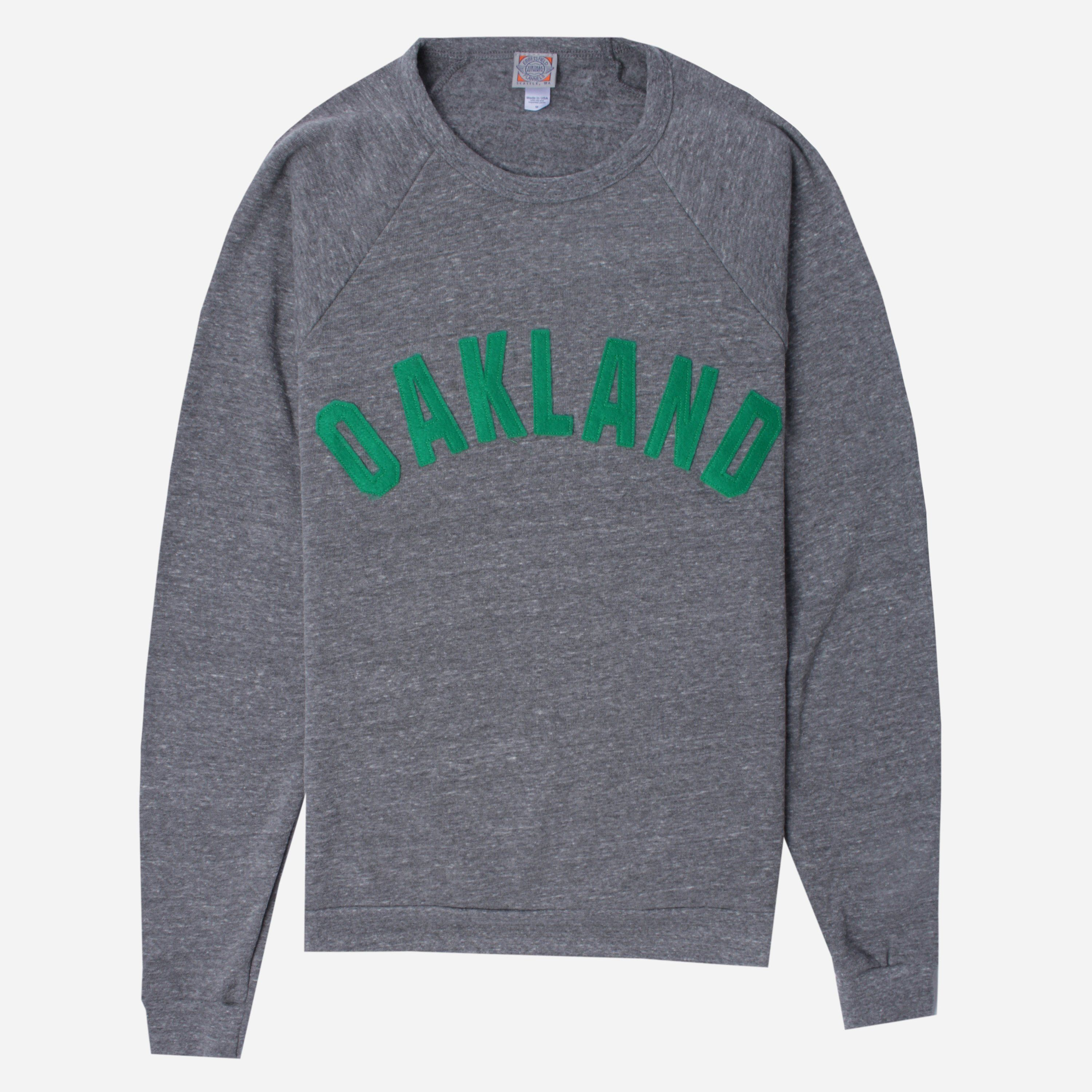 Ebbets Field Flannels OAKCS OAKLAND OAKS SWEAT