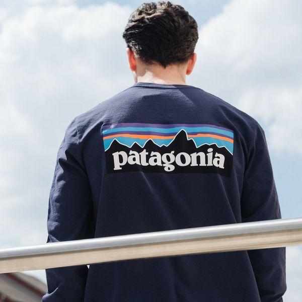 Patagonia P-6 Logo Long Sleeve T-Shirt