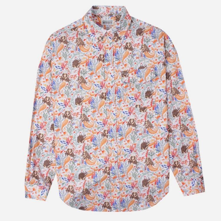 Engineered Garments Workaday BD Long Sleeve Shirt