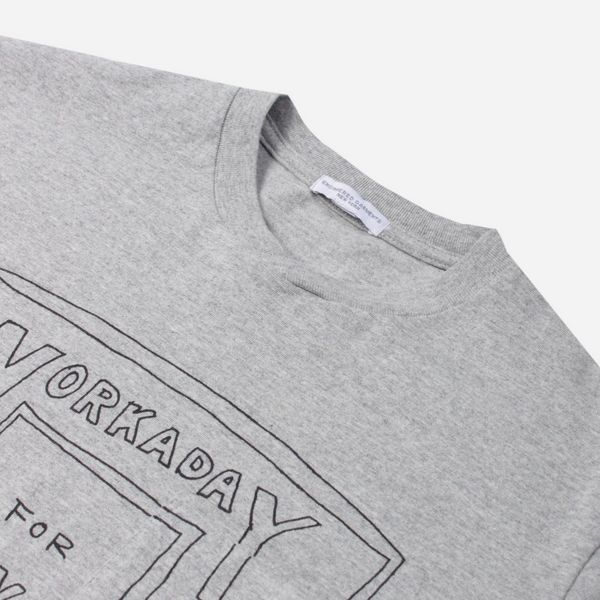Engineered Garments Workaday Crossover Neck Pocket T-Shirt