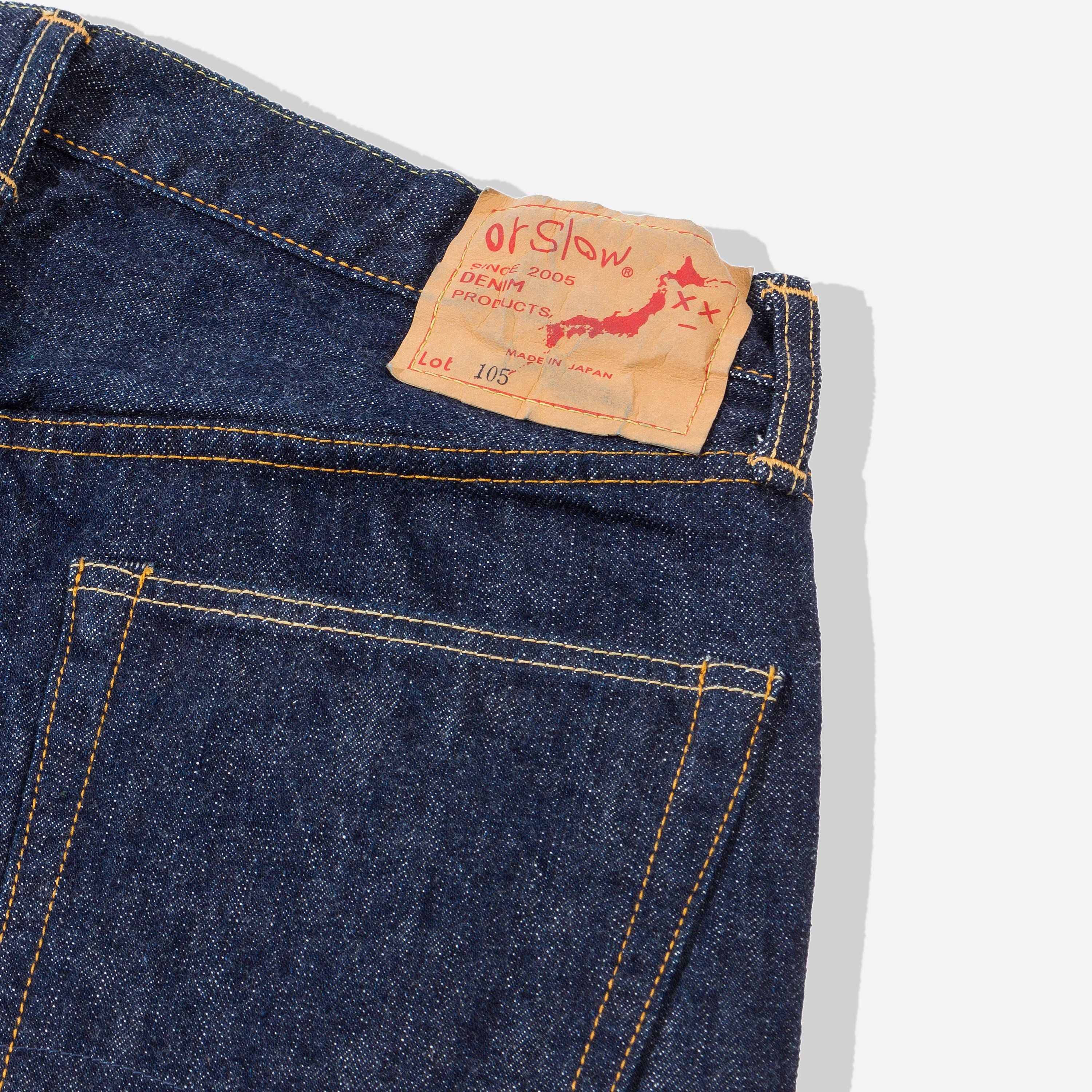 orSlow 01 1050 STANDARD FIT JEANS