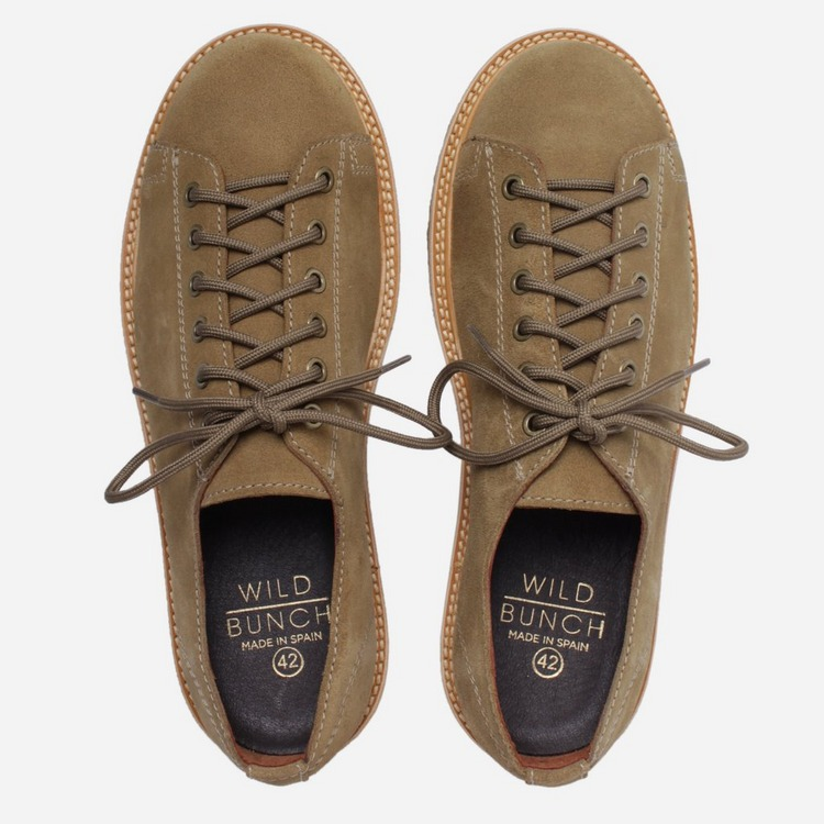 Wild Bunch Crepe Trainers