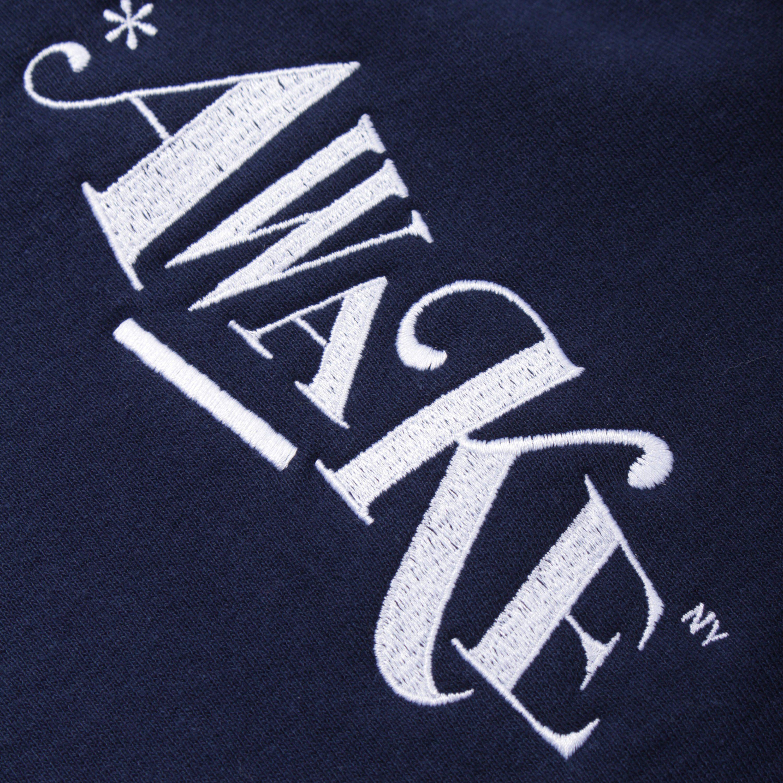Awake NY Distorted Logo Hoodie
