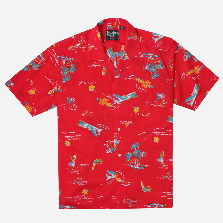 Gitman Vintage Vintage Camp Short Sleeve Shirt | The Hip Store