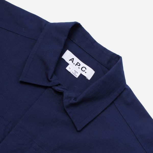A.P.C. Chemisette Midway Short Sleeve Shirt