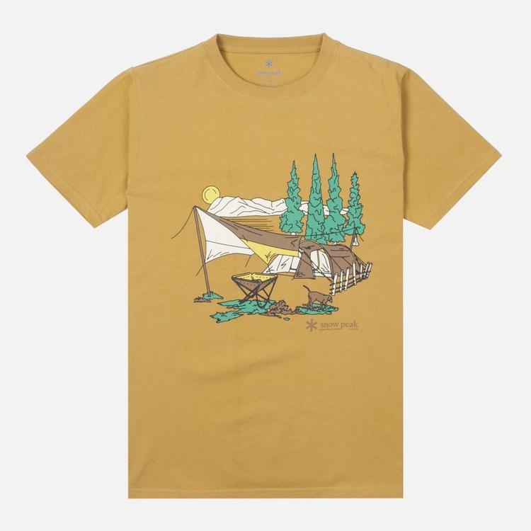 Snow Peak Entry Camping T-Shirt