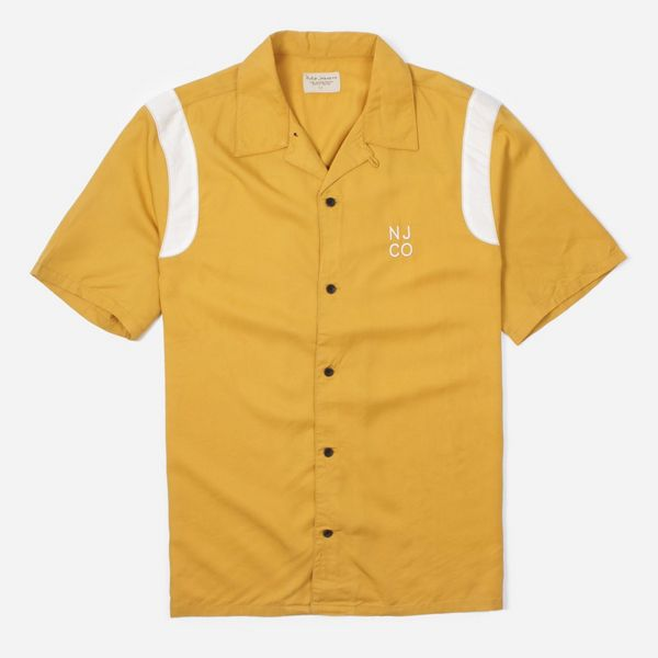 Nudie Jeans Co. Jack Bowling Short Sleeve Shirt