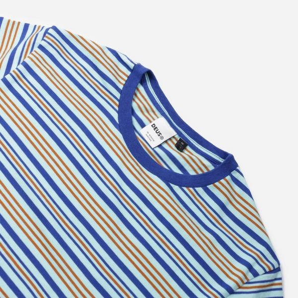 Deus Ex Machina Berties Stripe T-Shirt