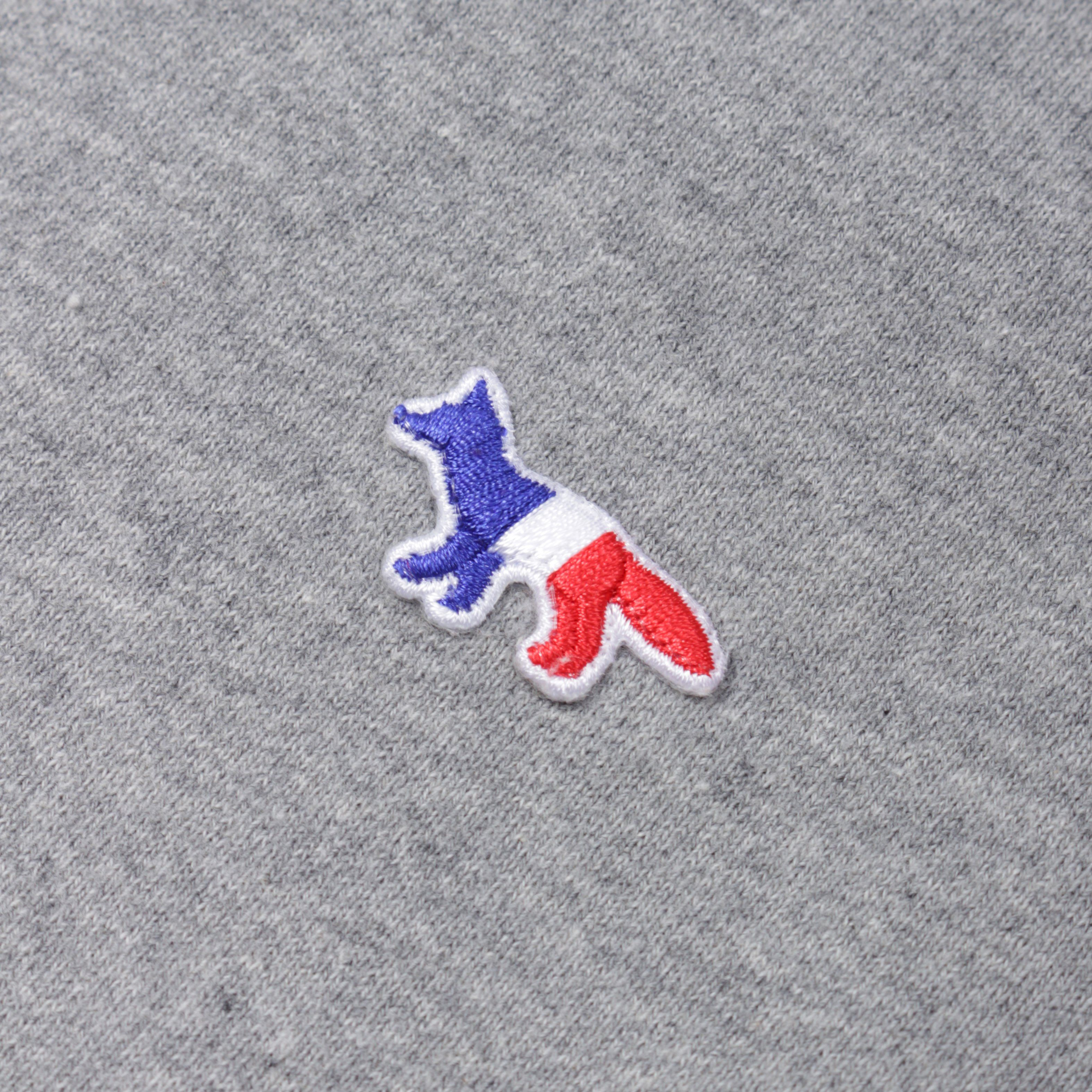 Maison Kitsune M0002 SWEATSHIRT TRICOLOUR FOX PATCH