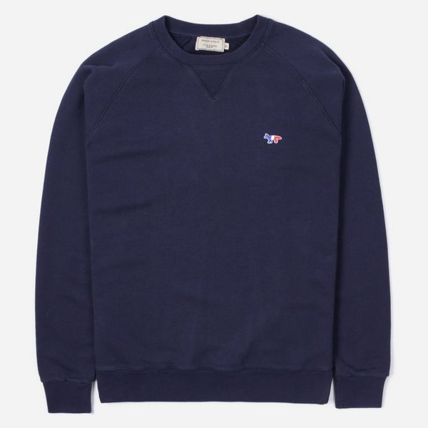 Maison Kitsune Tricolour Fox Sweatshirt