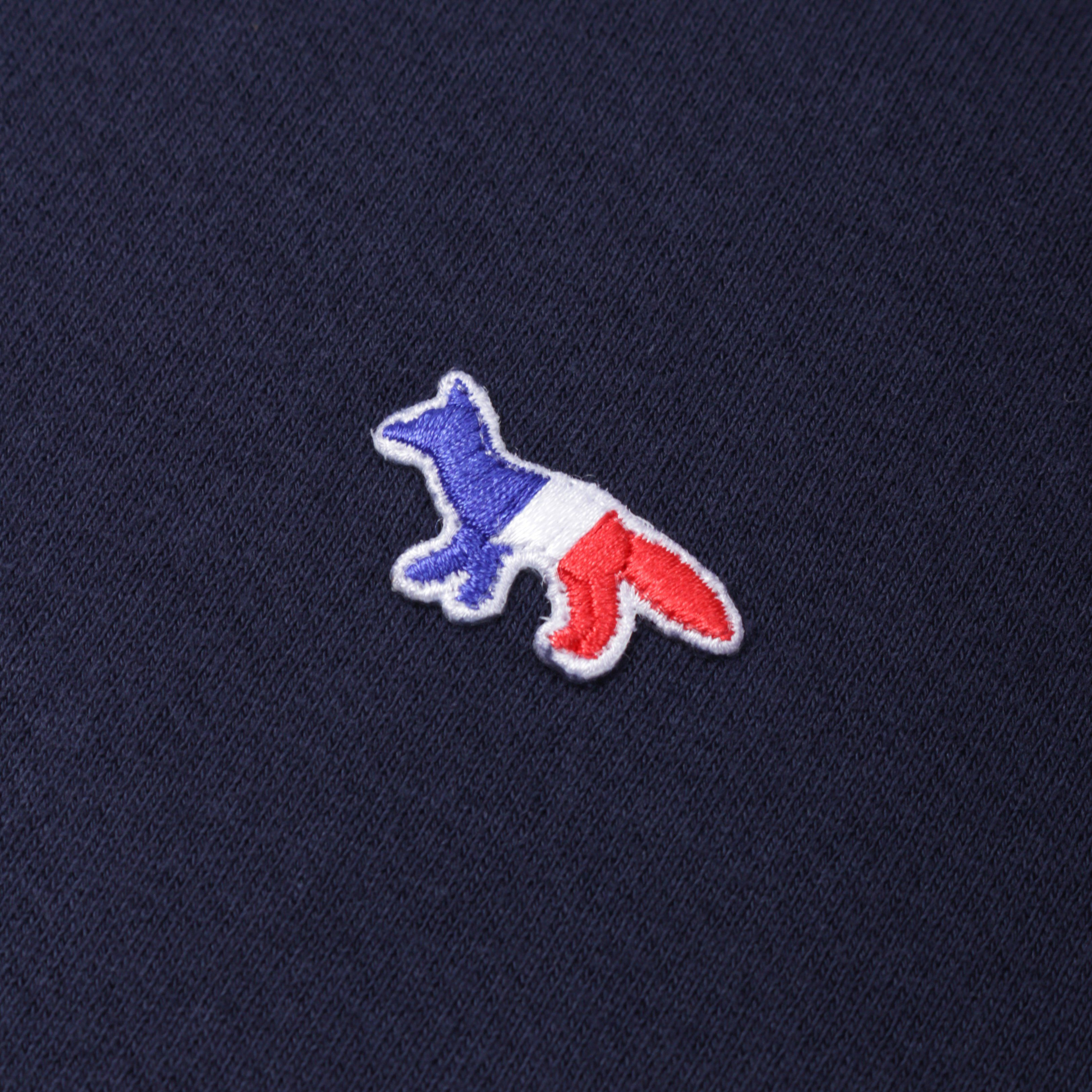 Maison Kitsune M0002 SWEATSHIRT TRICOLOUR FOX PATCH