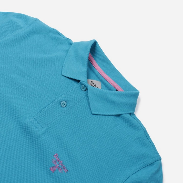 Barbour Beacon Logo Short Sleeve Polo Shirt