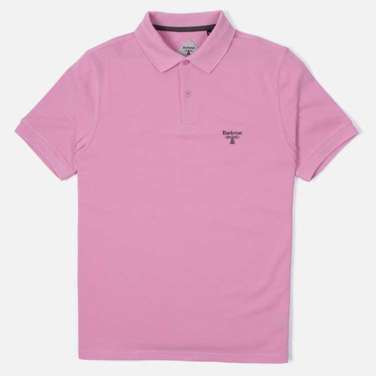 Barbour Beacon Logo Short Sleeve Polo Shirt