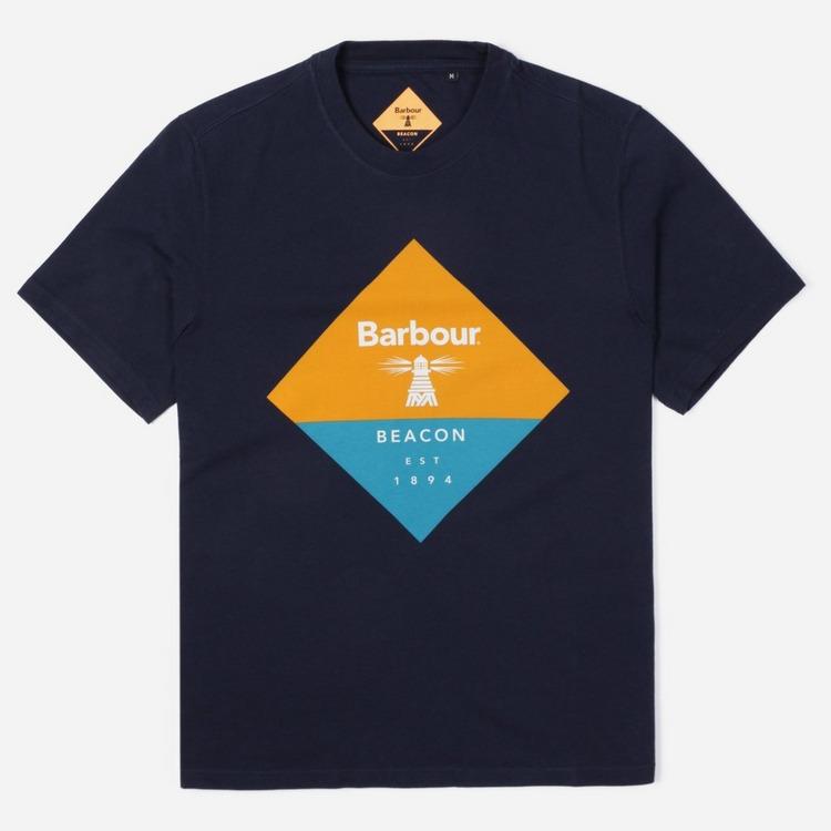 Barbour Beacon Diamond T-Shirt