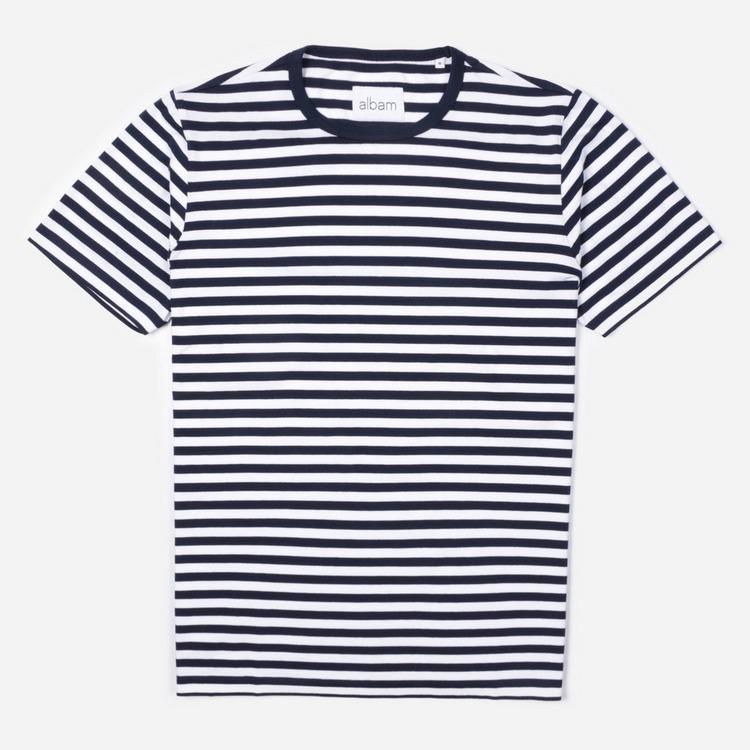 Albam Simple Stripe T-Shirt