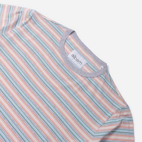 Albam Riley Stripe T-Shirt