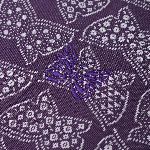 Needles Papillon Poly Jacquard Rib Collar Track Jacket