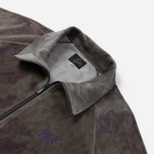 Needles Uneven Dye Velour Track Jacket
