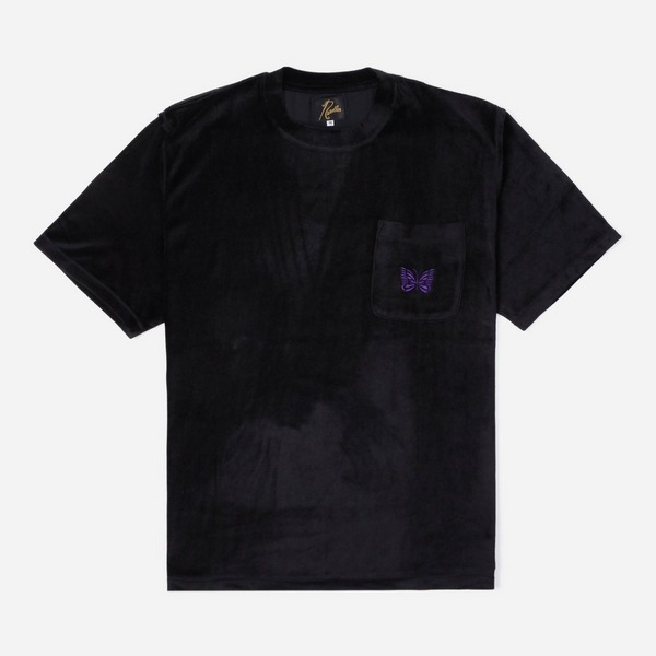 Needles Papallion Embroidered Pocket T-Shirt