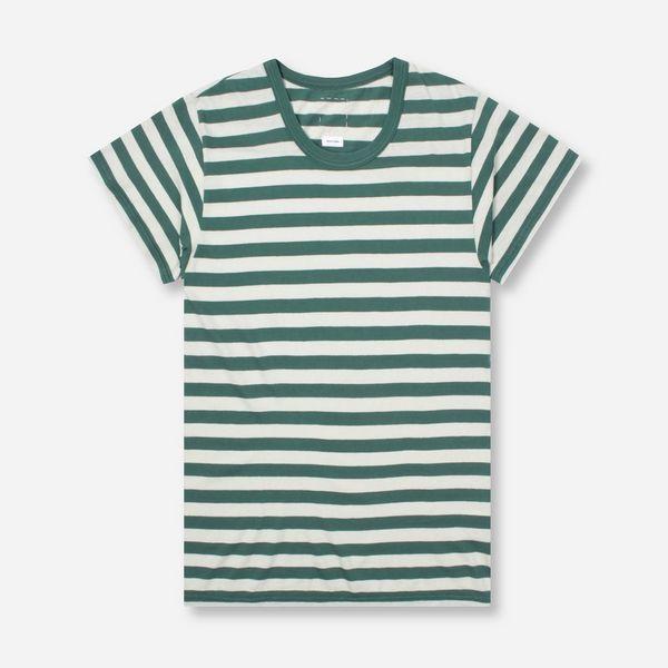 Visvim A Line Short Sleeve Stripe T-Shirt