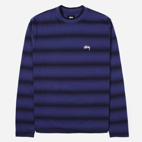 Stussy Ombre Long Sleeve Crew T-Shirt