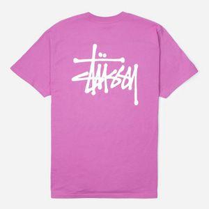 2d1197a8 Stussy Basic Short Sleeve T-Shirt ...